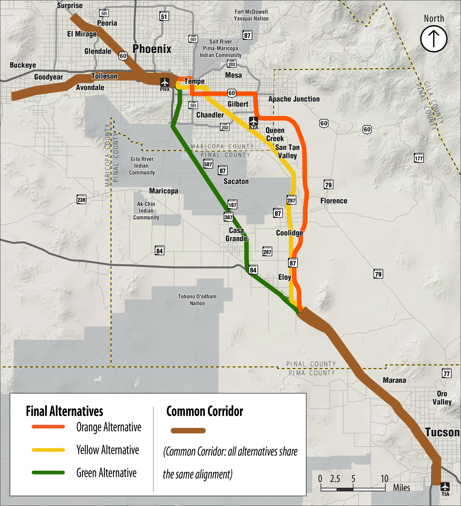 ADOT Passenger Rail Study Phoenix To Tucson  Still Time